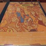 カレーレストラン シバ - メニュー表