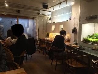 玄挽蕎麦 NAGARA - 内観地下一階