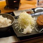 牛カツのタケル - 2016.3 牛カツ定食(1枚)