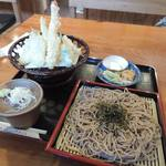 48267748 - 天ざる蕎麦1100円