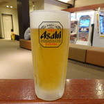 楽然 - 生ビール(520円)
