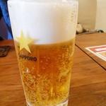 キアンキャバブ - 生ビール