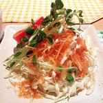 キッチンビッキー - グラタンランチのサラダ