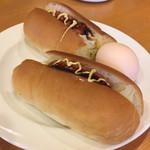 カノン - ホットドッグ       Eセット飲み物+130円