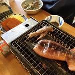 磯丸水産 - 焼きイカ