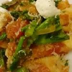 クチーナ ハセガワ - 野菜の存在感がすごい
