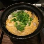 日本料理 太月 - 白魚とウド、セリの玉子とじ 2016-2