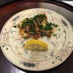 日本料理 太月 - 鮎魚女木の芽焼き 2016-2