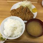 48276188 - ロースかつ定食(大)900円税込