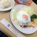 洋食 キラク - そときちハンバーグ 1350円 2016.3