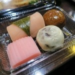 エナブ - 差し入れの和菓子