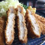 とんかつ富留川 - 160305 ロースカツ定食