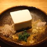 高太郎 - 池袋大桃豆腐(冷奴) 北海道大袖振大豆 使用