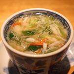 高太郎 - 和栗と蟹茶碗蒸し