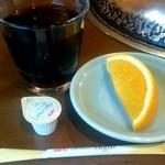 48278745 - 食後のデザート、飲み物