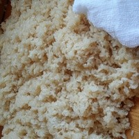 四季彩 鮨楽 - 赤酢のシャリ