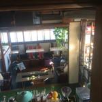 48279260 - 中二階からの一階の風景