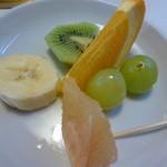 友琉館 - デザートのフルーツ