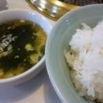 友琉館 - ご飯とスープ