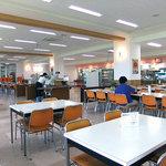 新潟大学生活協同組合 第3食堂  - 夏休み期間中はガラガラです