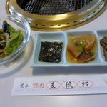友琉館 - ランチセット 前菜?とサラダ