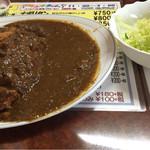 える - ポークカツカレー ¥950- +税