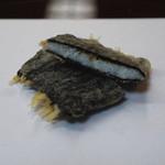 天ぷら 京星 - 茨城県産 白魚の海苔はさみ揚げ