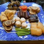 竹はる - 2016.2:煮物盛合せ