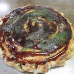 お好み焼き 丸金 - 料理写真:すじこん焼 500円