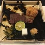 柚木元 - 蝦夷鹿のステーキ