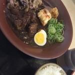 48285954 - 肉・肉・肉カレー(小ライス付き) 1,100円