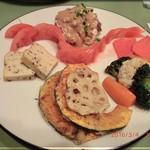 仙豆飯店 - 前菜盛合わせ