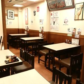 ◆お二階テーブル席完備♪◆団体さま、ご家族でもご利用頂けます