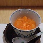 かんだ - 杏仁豆腐、みかんかけ