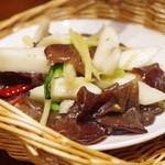 蓮香 - 自然薯 生キクラゲ 香り炒め