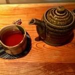 炭火割烹 蔓ききょう - 京番茶