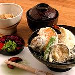 京料理 萬長 - 天丼定食