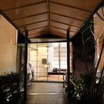 庭のホテル -