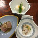 鯛納屋 - 夕食 マンボウの刺身