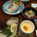 鯛納屋 - 夕食 ウニの茶碗蒸し