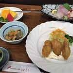 ビジネスインうめさき - 料理写真:夕食セット1(1400円)
