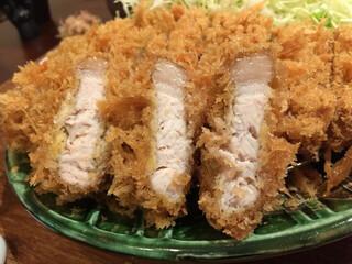 ぽくぽく - サクサクとんかつセット 200g  2100円