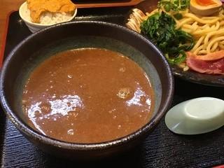 竹本商店☆つけ麺開拓舎 - ウニつけ麺のつけ汁