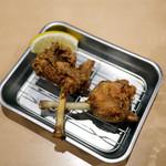 48293212 - 若鶏チューリップ唐揚げ(1本)¥90