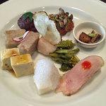 鳴尾山芋研究所 フラットブッシュ - ランチの前菜8種
