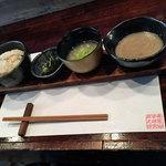 鳴尾山芋研究所 フラットブッシュ - ランチの自然生麦とろろめし