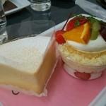 ボヌール・ドゥース - 白いチーズとアラモード