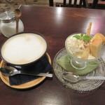 BOWLS cafe - プチパフェ・バニラ&カフェオレ