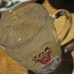 焼肉居酒屋 マルウシミート - ジンと肉=ジントニック胡椒たっぷり