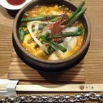 とり田 - 水炊きスープで作る『博多水炊きスンドゥブ』